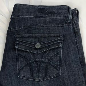 Kut from the Kloth High Rise Wide Leg Jeans 12